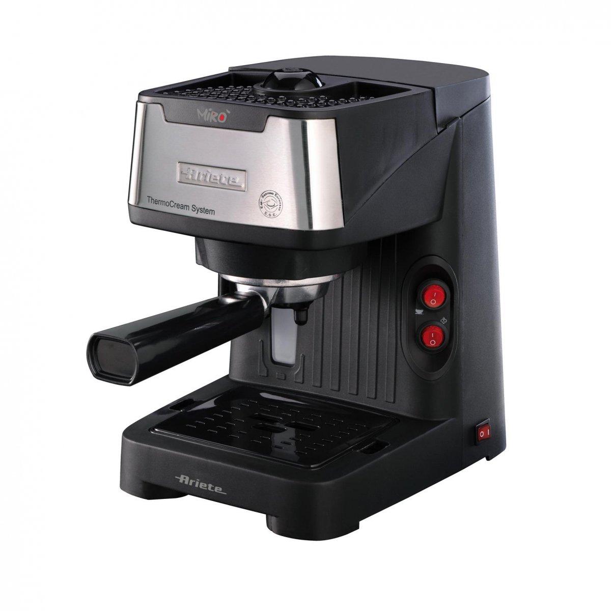 Ariete macchina caffe miro cromo ariete for Ariete elettrodomestici