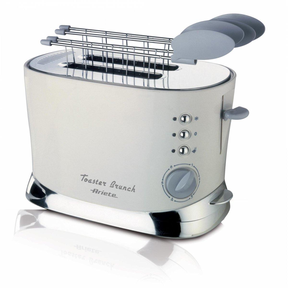 Ariete tostapane toaster brunch ariete elettrodomestici for Ariete elettrodomestici
