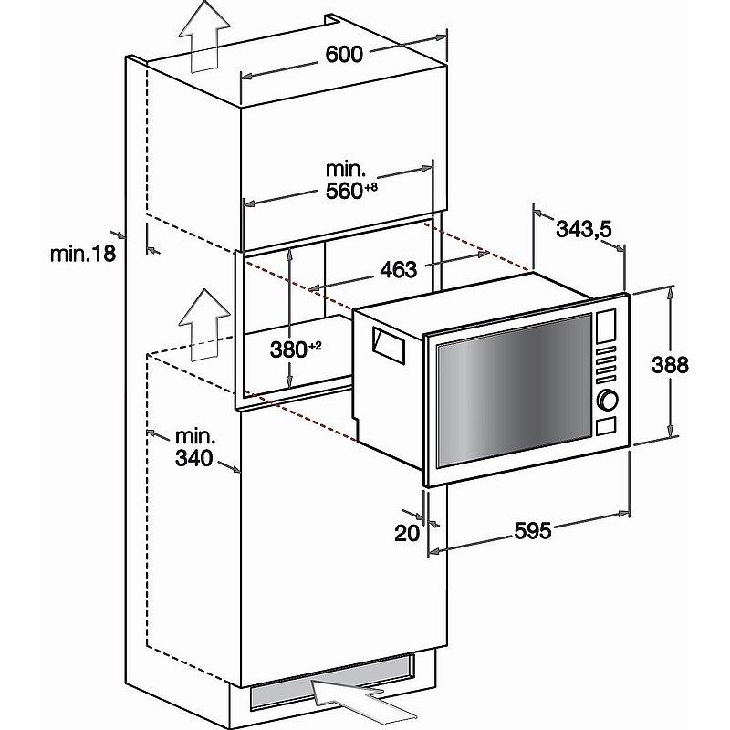 Hotpoint ariston forno microonde estetica base mwha1221x hotpoint ariston elettrodomestici - Forno a microonde a incasso ...