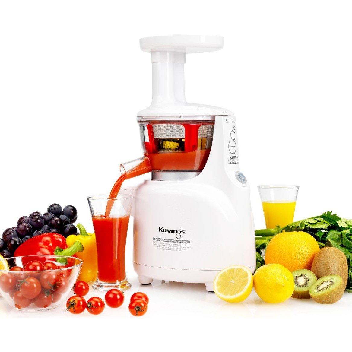 Küchenabfallzerkleinerer Österreich ~ kuvings silent juicer ns750sc weiss kuvings