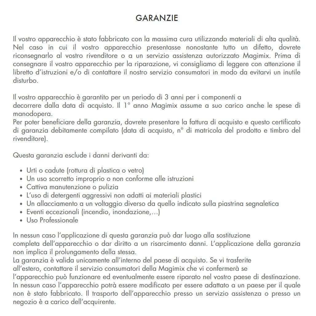 Magimix MINI ROBOT TRITATUTTO LE MICRO BIANCO