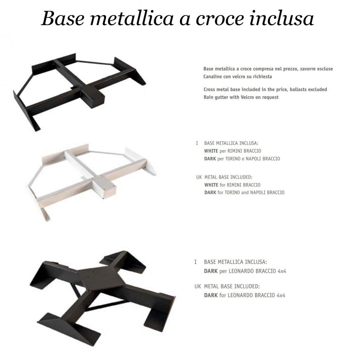 Scolaro OMBRELLONE RIMINI BRACCIO