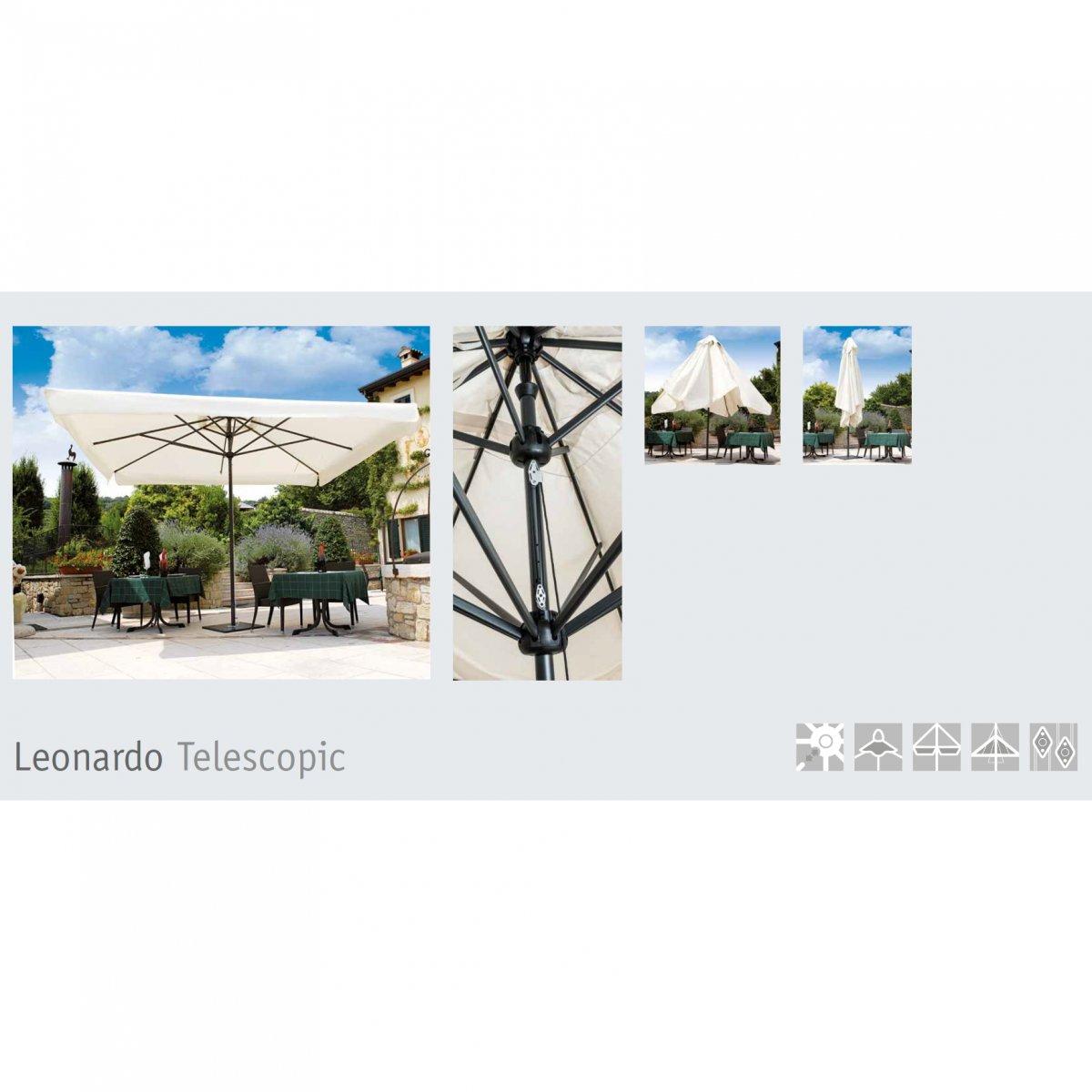 Scolaro OMBRELLONE LEONARDO TELESCOPIC