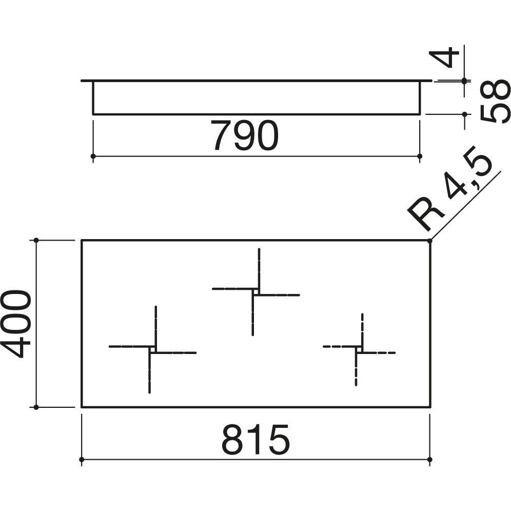 Barazza piano cottura induzione flat 1pid93nq barazza for Costo ascensore esterno 4 piani