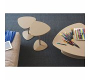 Connubia by Calligaris COUCHTISCH ISLANDS 40X40X42 H. CB5061A