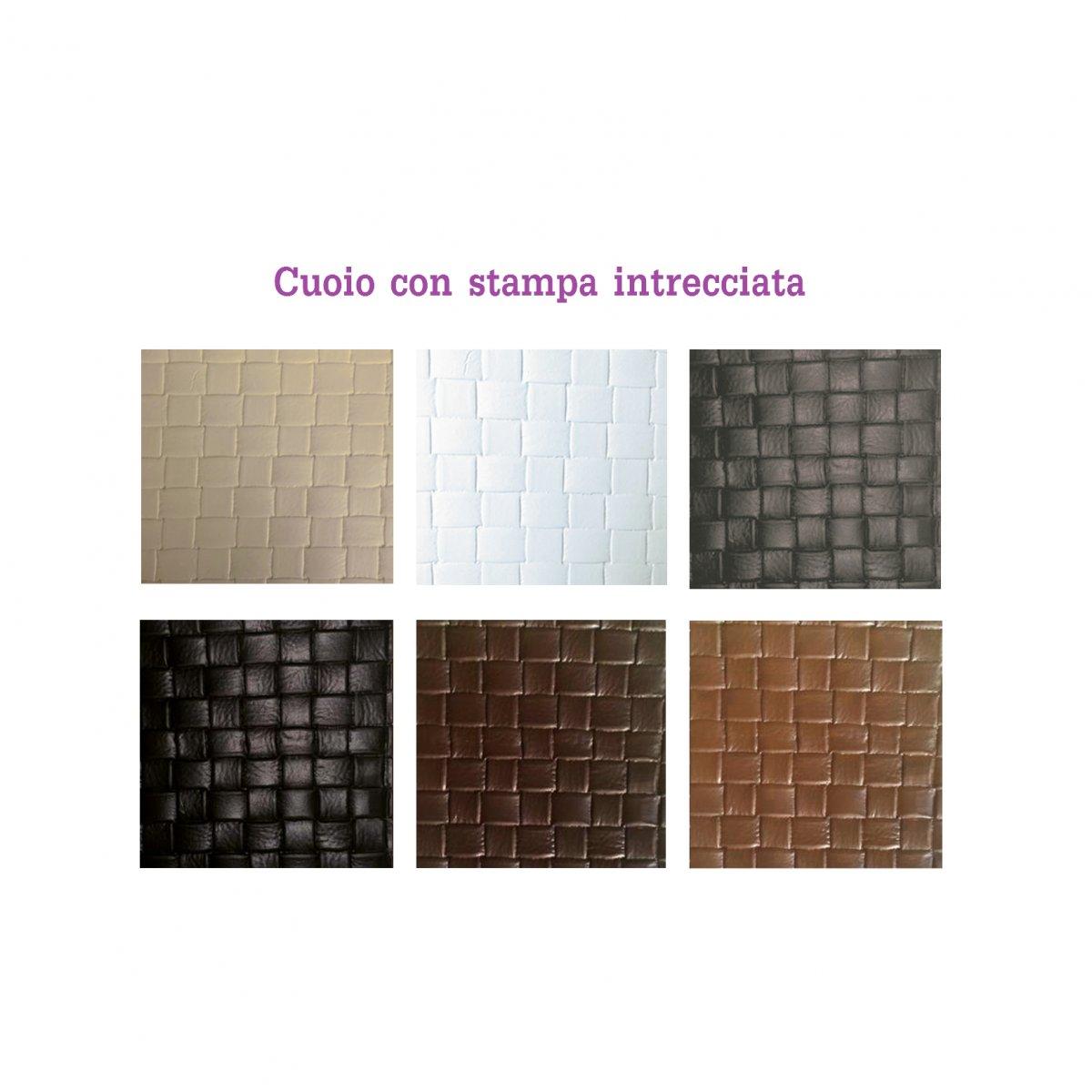 Morandin Design CONTENITORE PORTA LEGNA IN CUOIO DAISY