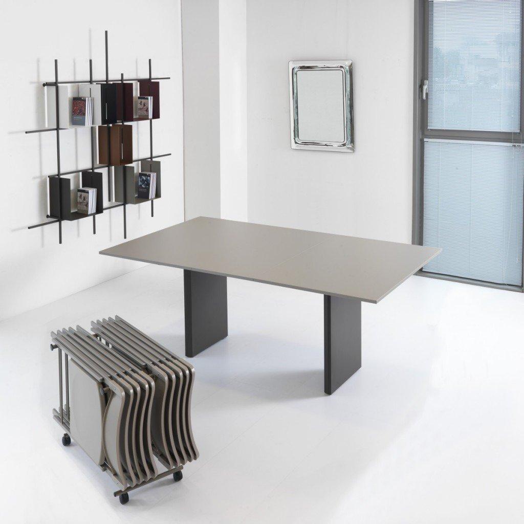 Pezzani tavolo consolle proteo pezzani tavoli e sedie for Consolle tavolo