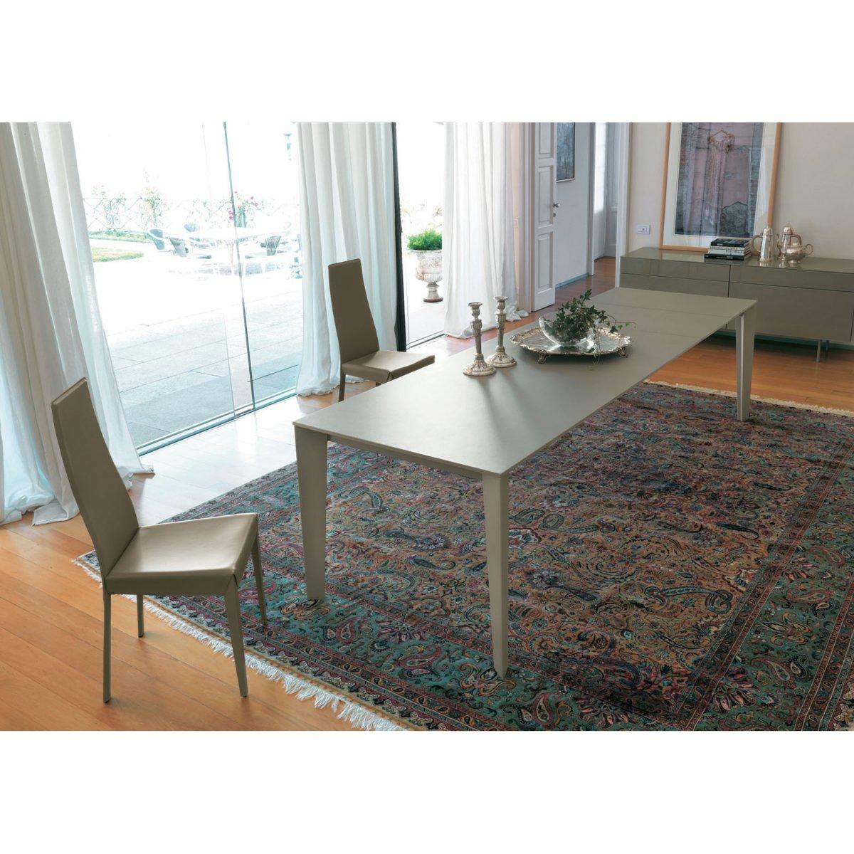 Bontempi casa tavolo cruz allungabile 120x80 melaminico for Tavolo 120x80
