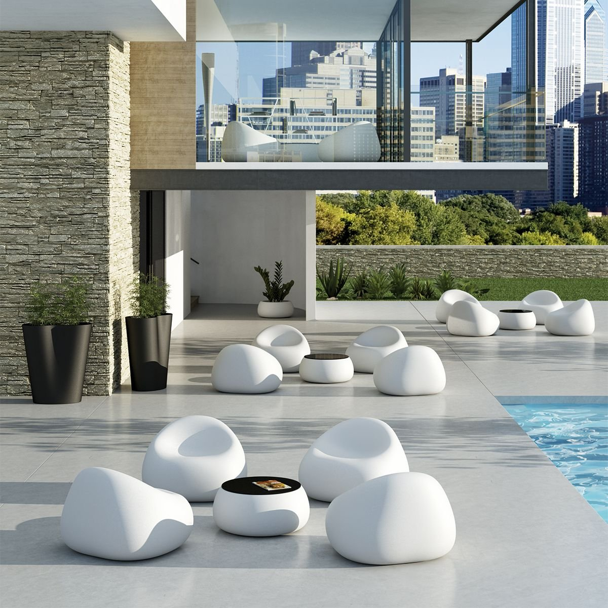 PLUST collection POLTRONCINA GUMBALL LIGHT
