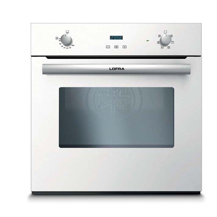Lofra forno gaia gas ventilato 60 white fovb66ge lofra elettrodomestici forni incasso - Forno incasso a gas ventilato ...