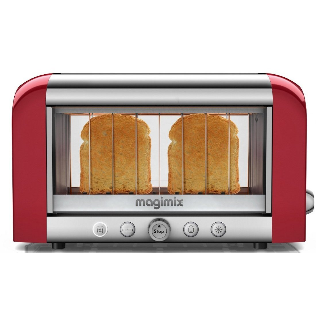 Magimix TOSTAPANE LE TOASTER VISION ROSSO