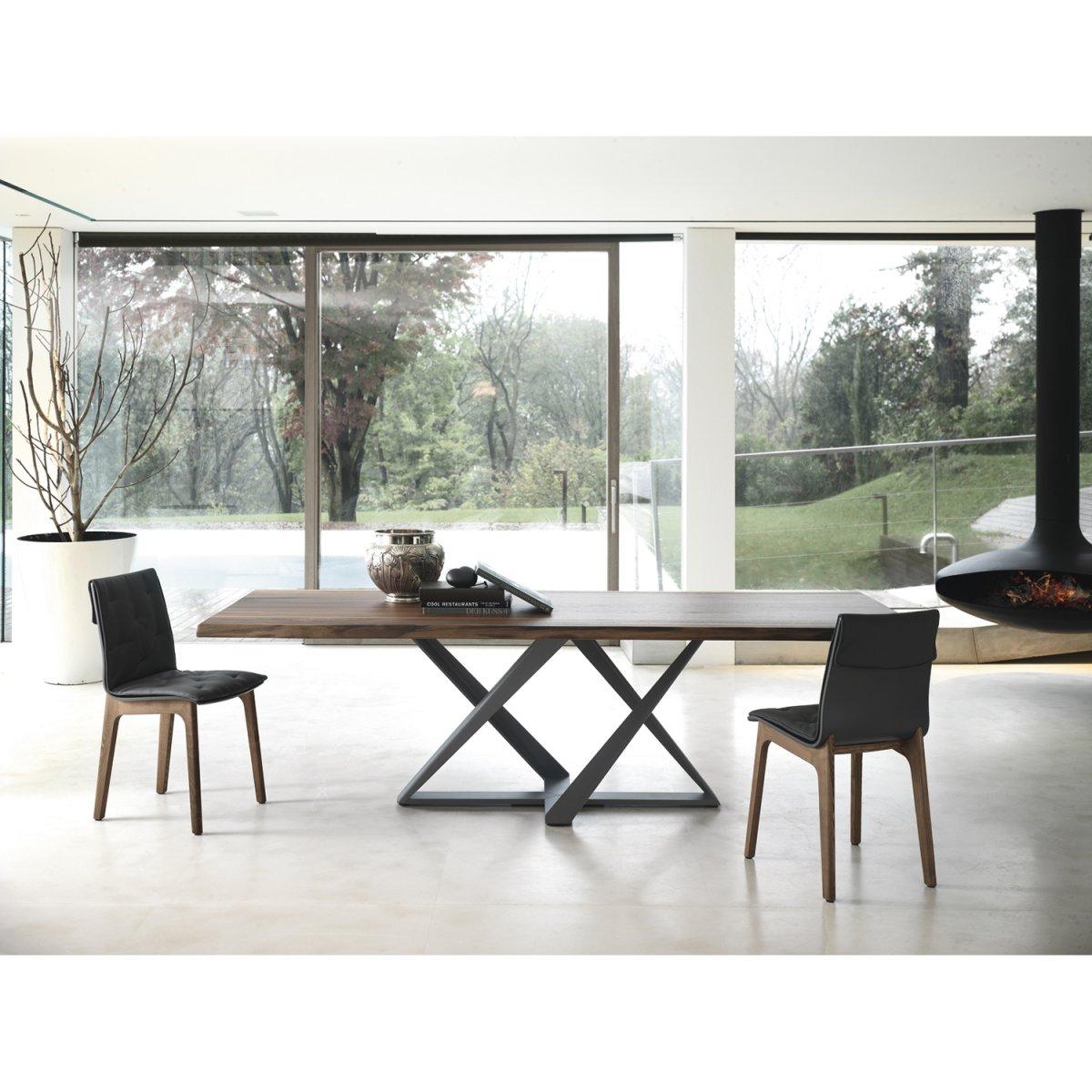 bontempi casa tavolo millennium rettangolare legno 300 x