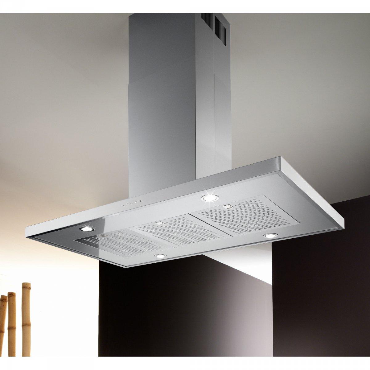 Airone: Cappa Slim Isola EVO 90 Airone   elettrodomestici ...