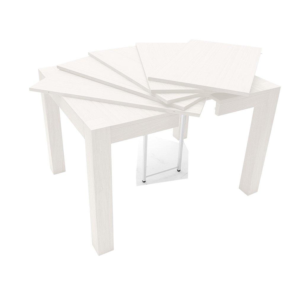 Loft: Tavolo Allungabile quadrato legno 90 Loft | tavoli e sedie ...