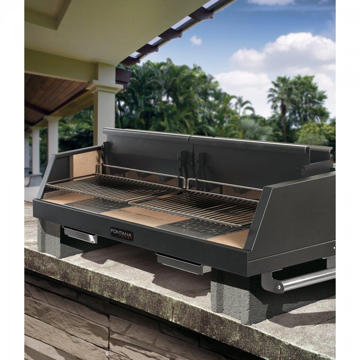 Barbecue Mobili Da Giardino.Fontana Forni Barbecue A Legna Egeo Da Appoggio Fontana Forni Giardino Barbecue