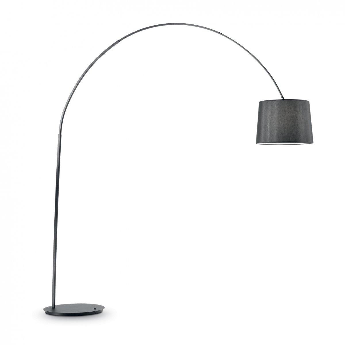 Ideal Lux DORSALE PT1 TOTAL BLACK LAMPADA DA TERRA