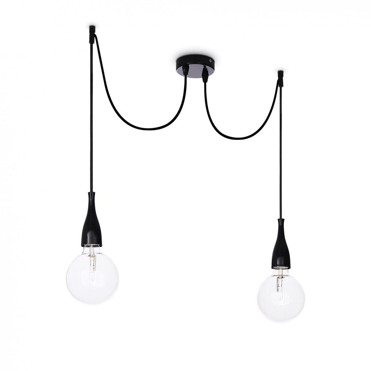 Ideal Lux Minimal Sp2 Bianco Opaco Lampada A Sospensione Ideal Lux
