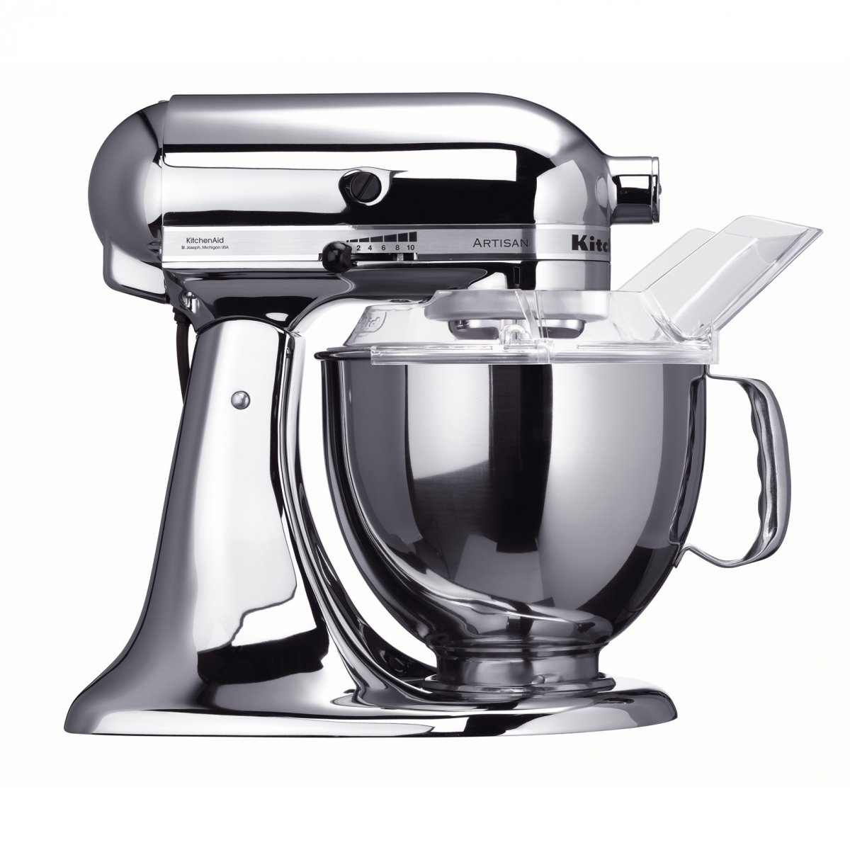 kitchenaid robot artisan 5ksm150psecr kitchenaid elettrodomestici piccoli elettrodomestici. Black Bedroom Furniture Sets. Home Design Ideas