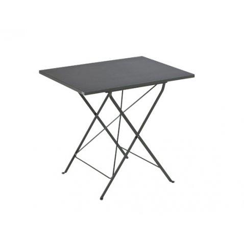 Tavoli In Metallo Da Esterno.Vermobil Tavolo Da Giardino Step Rettangolare Metallo 70 X 50