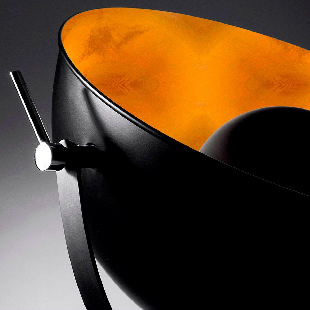 Keihome Linea J RIVAGE Lampada metallo nero