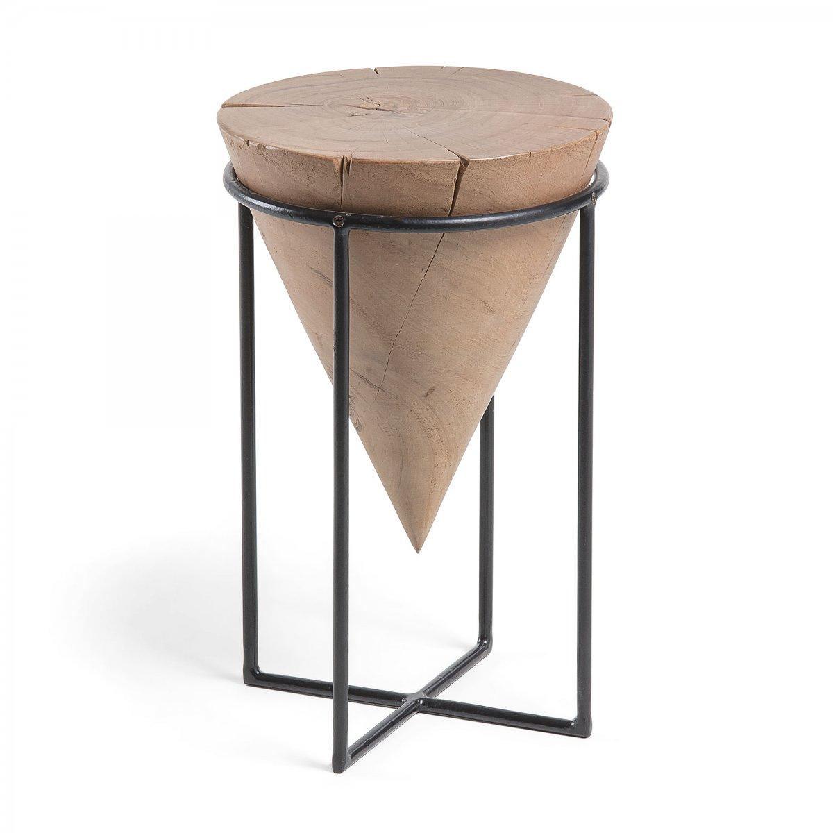 Keihome Linea J RAWRA Tavolino metallo legno acacia