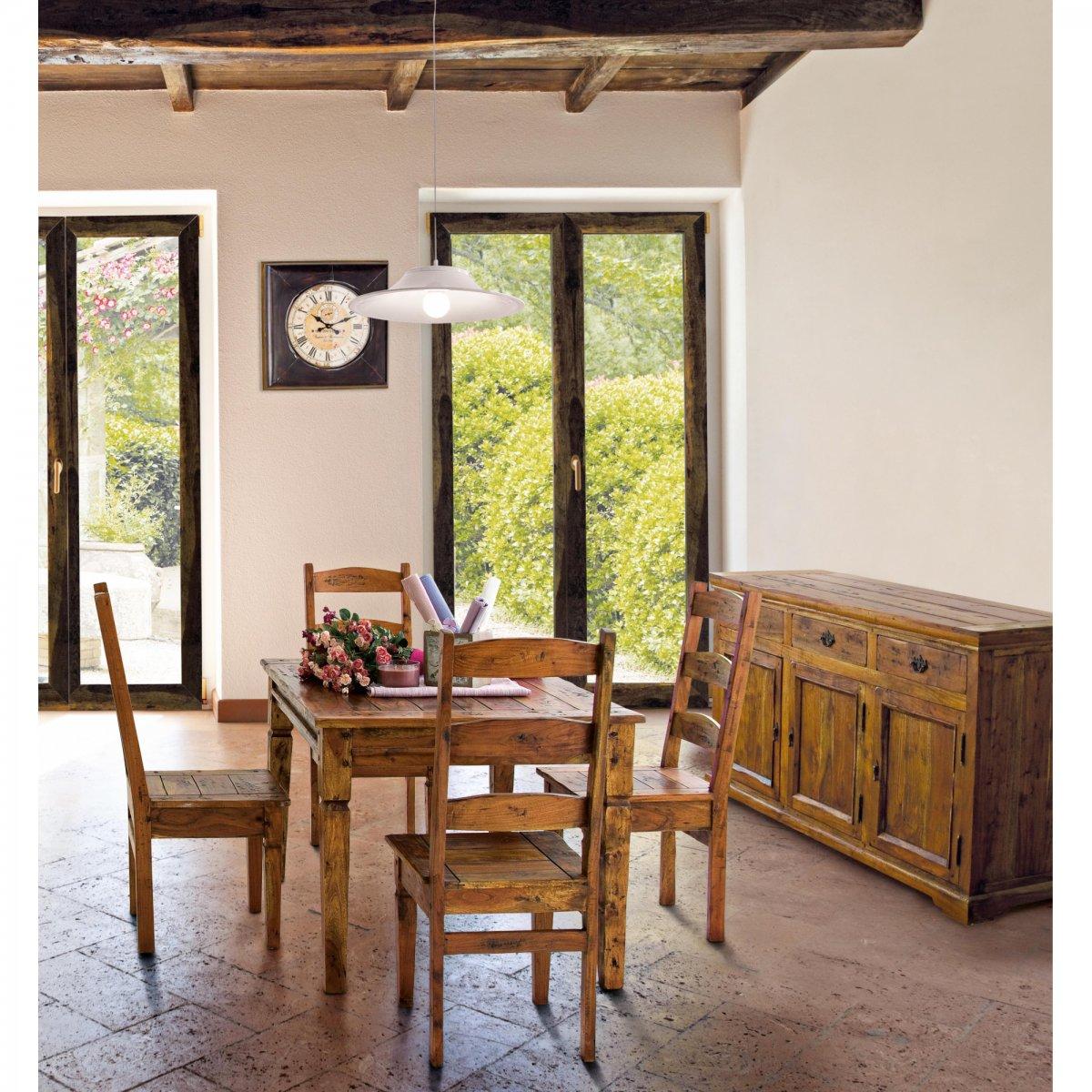 Bizzotto Home Emotion TAVOLO CHATEAUX ALLUNGABILE 120-160-200x90
