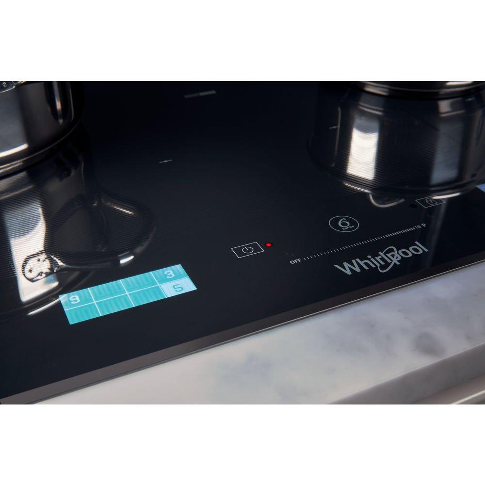 Whirlpool PIANO COTTURA INDUZIONE SMART COOK SMP658CNEIXL