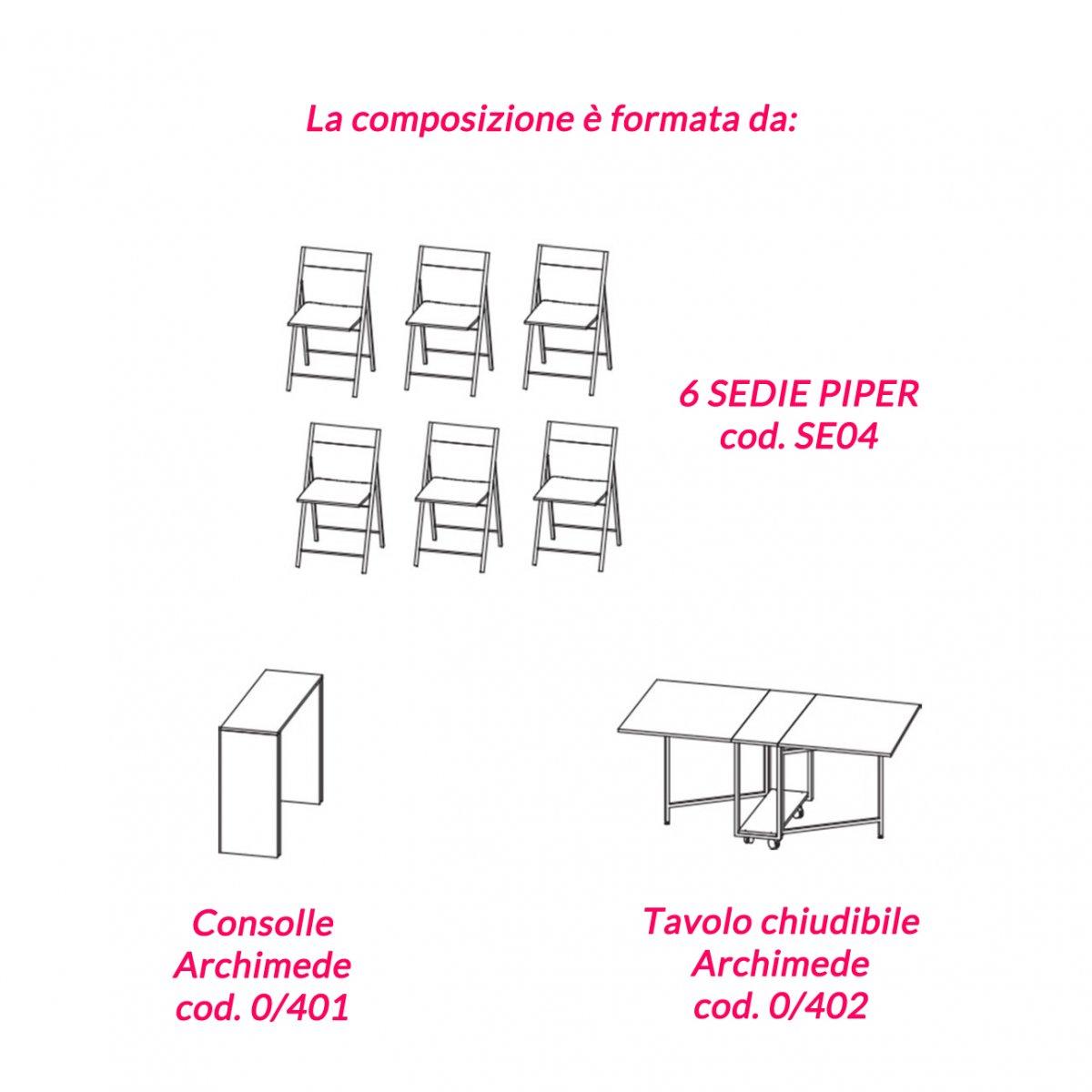 Pezzani ARCHIMEDE COMPOSIZIONE 3