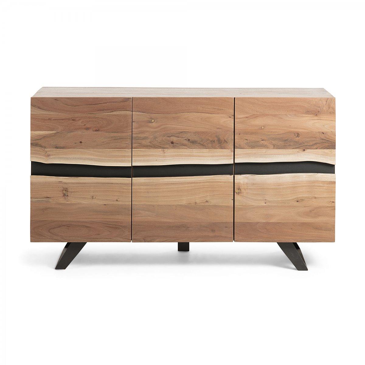 Keihome Linea J UXIA Credenza 148x85 legno acacia