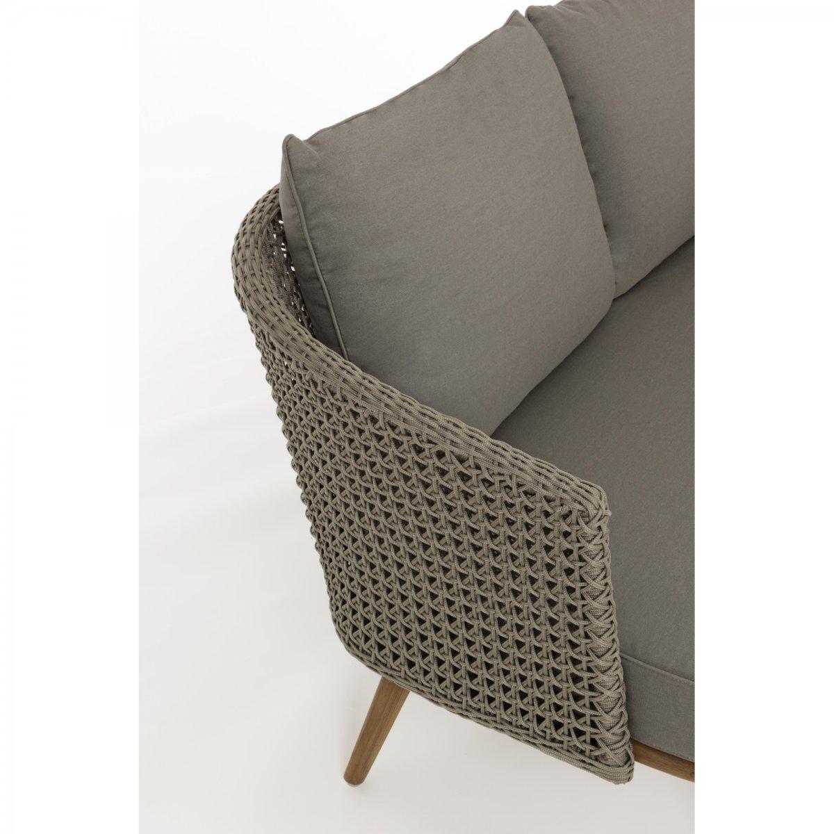 Cuscini Idrorepellenti Per Esterno bizzotto home emotion: divano con cuscini ninfa 2 - 3 posti