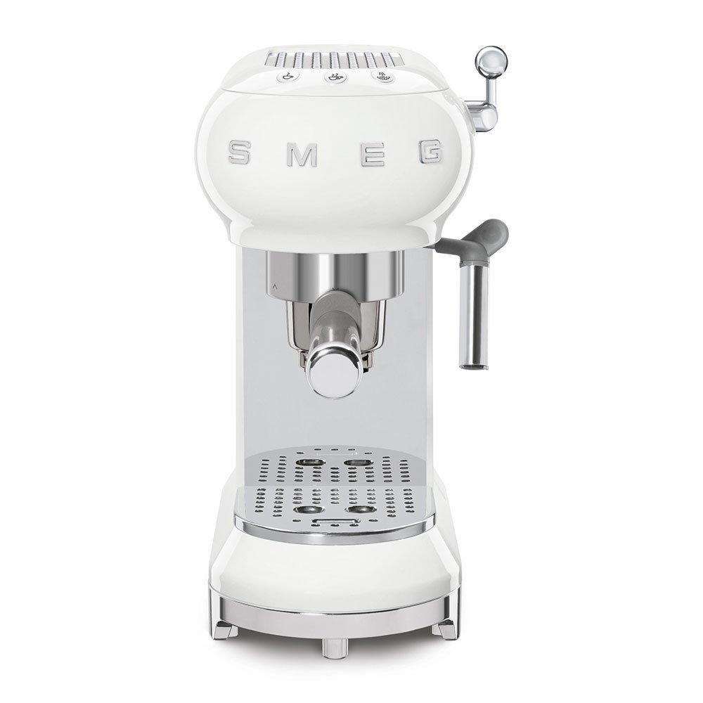 SMEG MACCHINA DA CAFFÈ ESPRESSO BIANCO ECF01WHEU