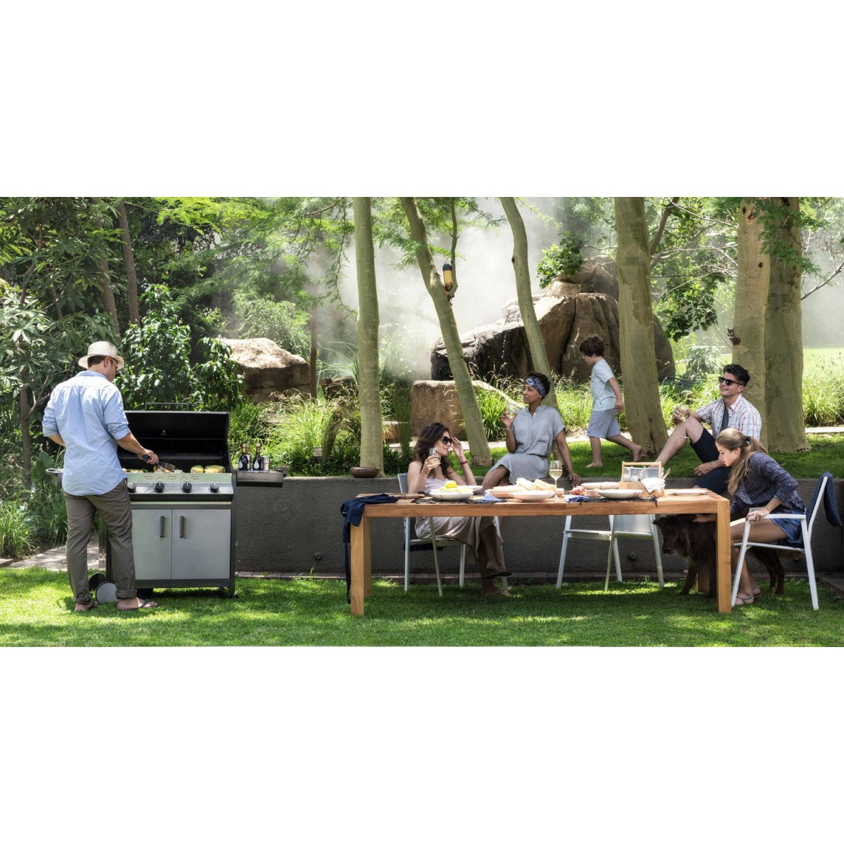 Fontana Forni BARBECUE A GAS MERIDIAN 4