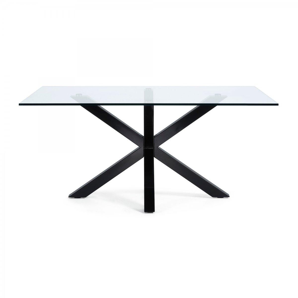 Keihome Linea J Tavolo ARGO rettangolare vetro 180 x 100