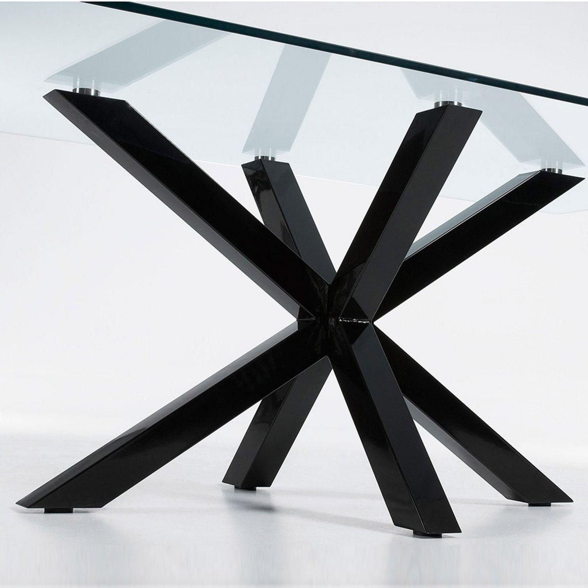 Keihome Linea J Tavolo ARGO rettangolare vetro 200 x 100