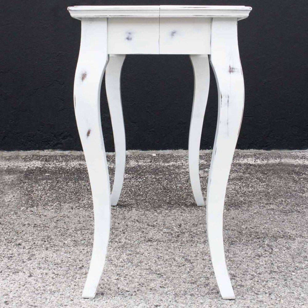 Itamoby Consolle allungabile Bassano Shabby Chic Bianco