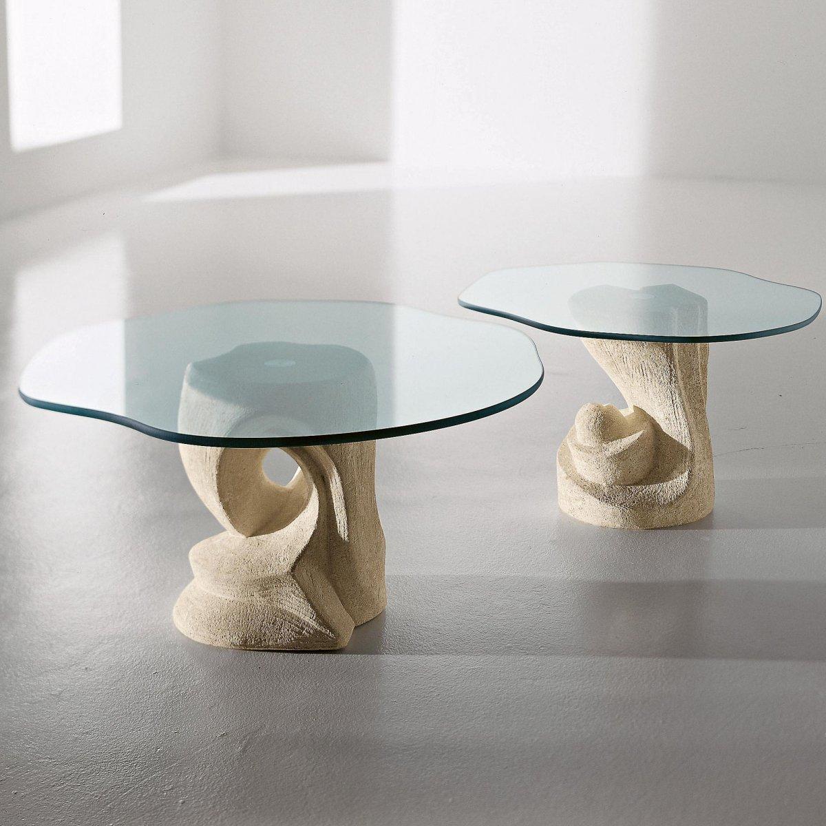LDM Laboratorio Del Marmo Tavolino Egeo sagomato