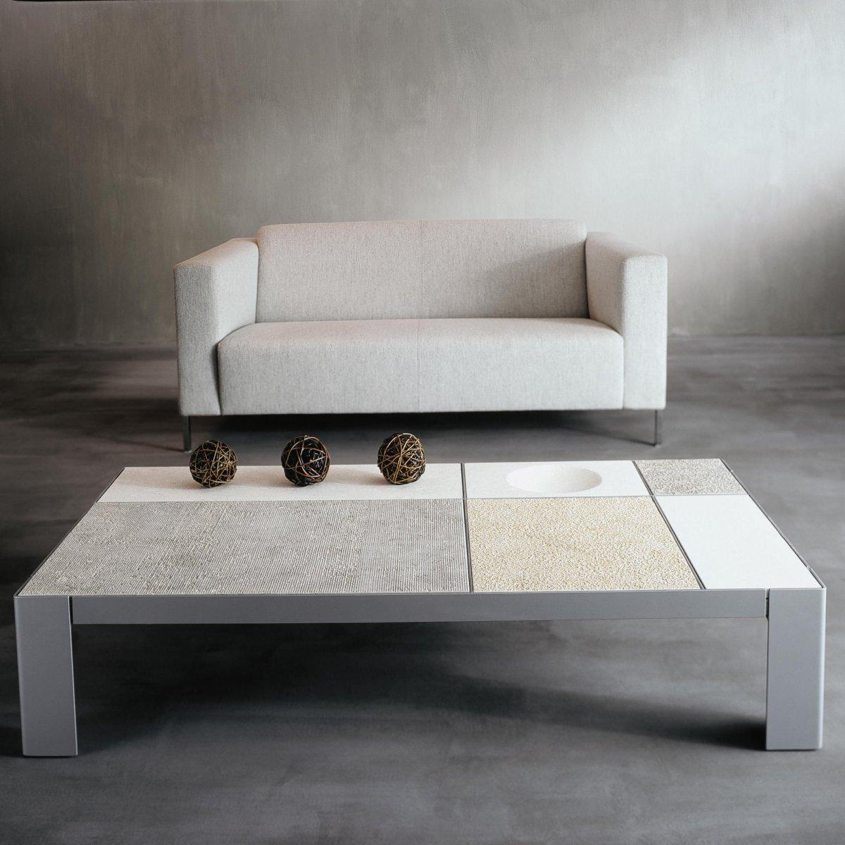Tavolini Hi Fi : Ldm laboratorio del marmo domino rettangolare