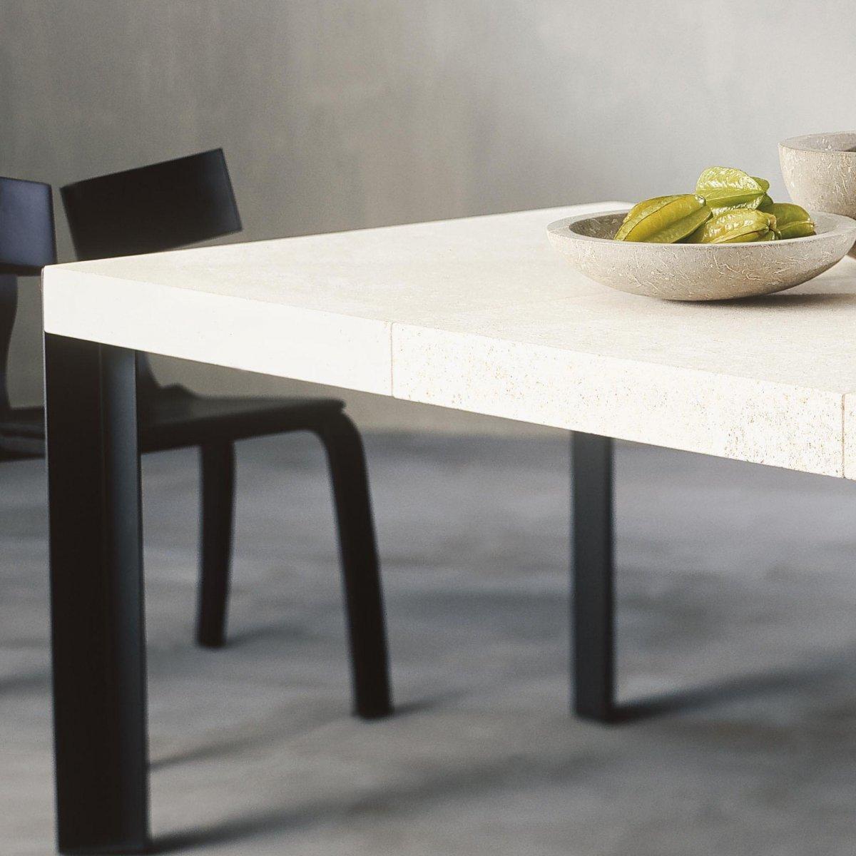 Tavoli In Pietra Per Interni.Ldm Laboratorio Del Marmo Tavolo Modulo Rettangolare Pietra 200 X
