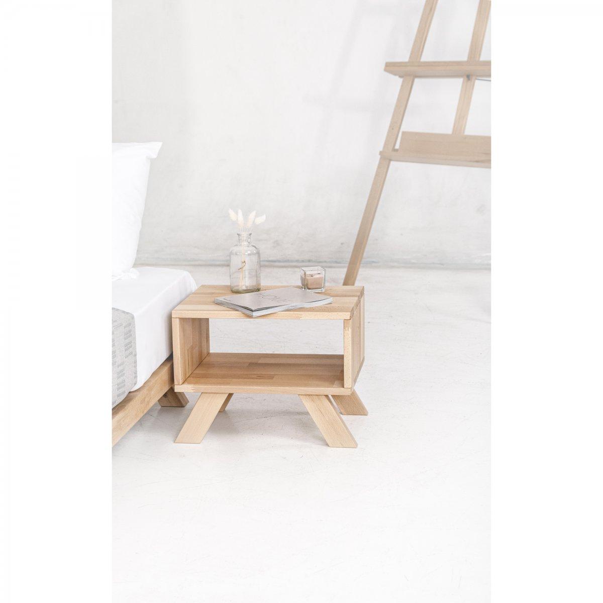 Woodman Comodino Allegro legno naturale