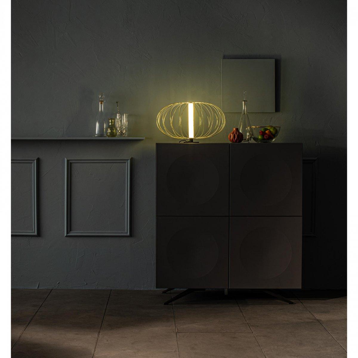 Stones Lampada da tavolo Mizar LA140 oro
