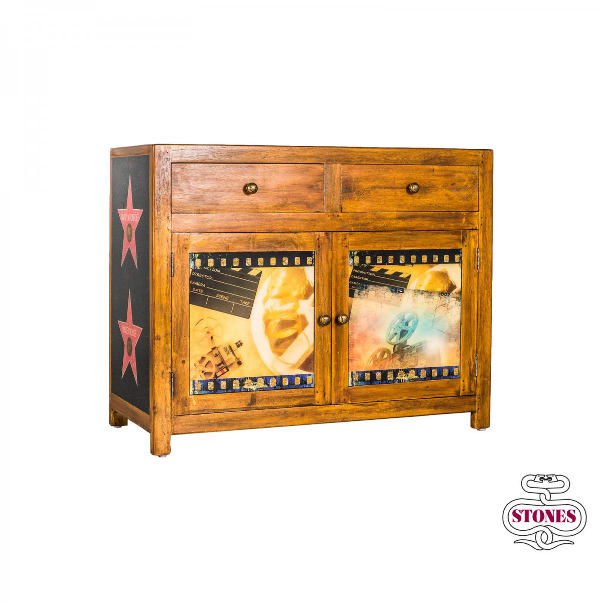 Stones Madia Hollywood in legno