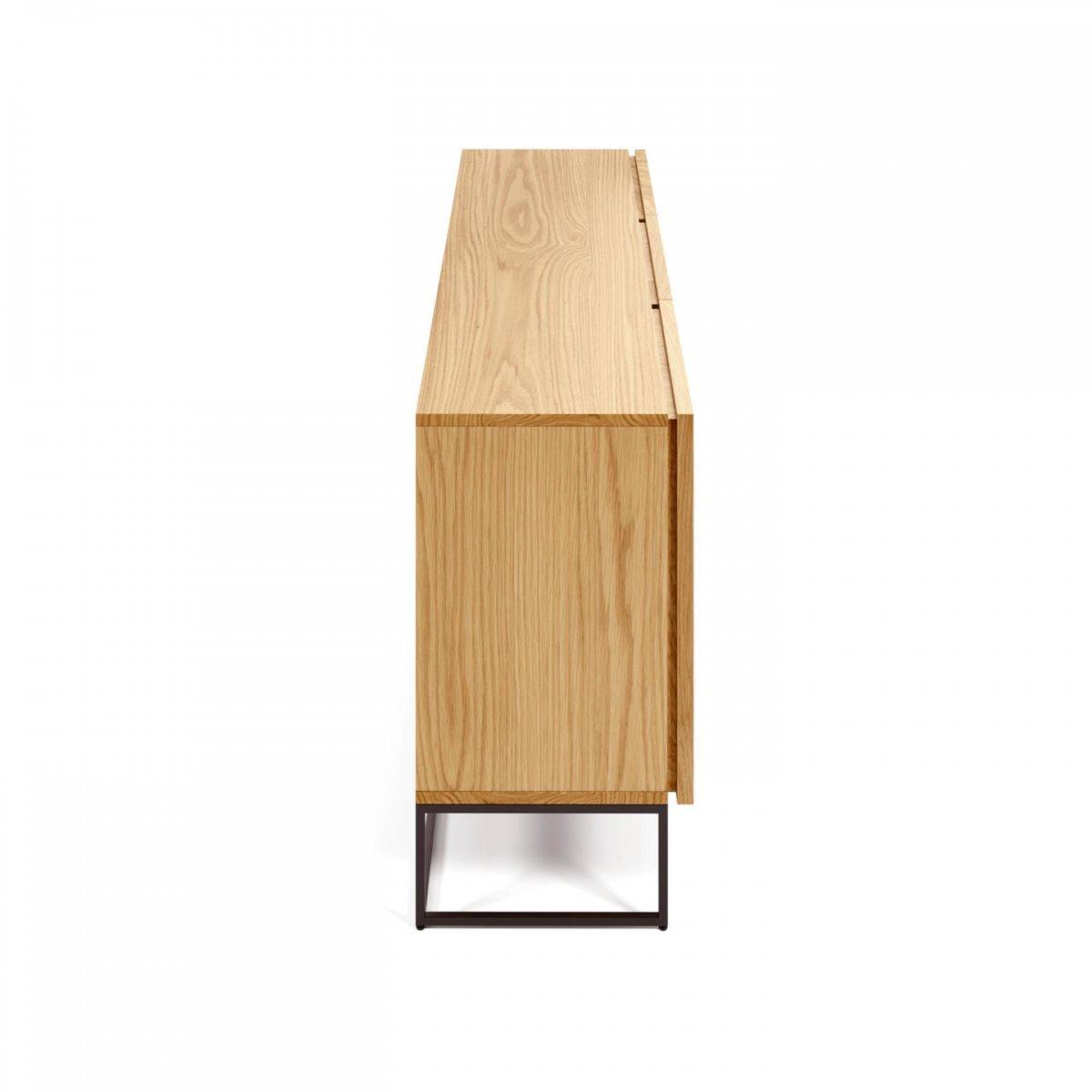 Keihome Linea J Credenza Taiana in legno e metallo
