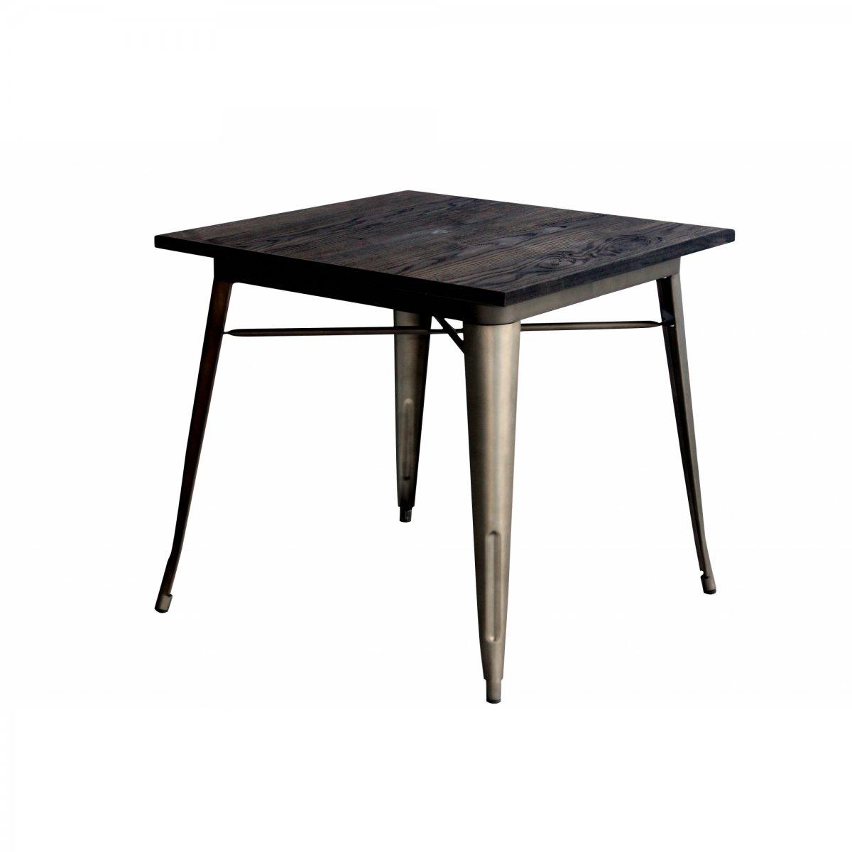 Loft Tavolo bistrot quadrato legno 80 LF611