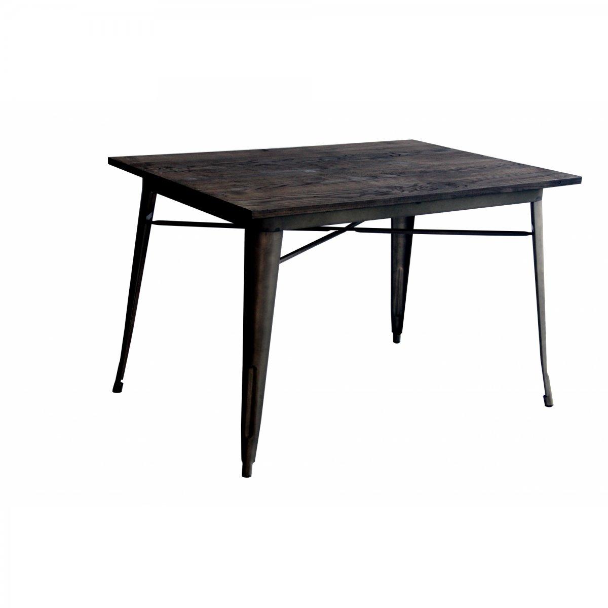 Loft Tavolo bistrot RETTANGOLARE legno 120 X 80 LF612