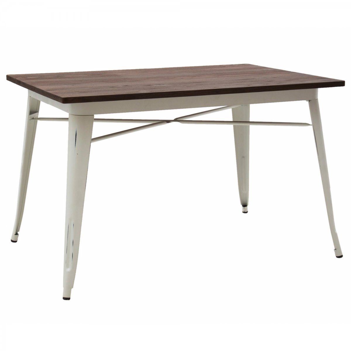 Loft Tavolo bistrot RETTANGOLARE legno 120 X 80 LF614
