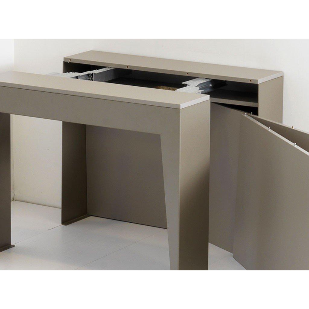 Pezzani marvel tavolo consolle allungabile pezzani tavoli e sedie tavoli - Tavolo consolle allungabile con sedie ...