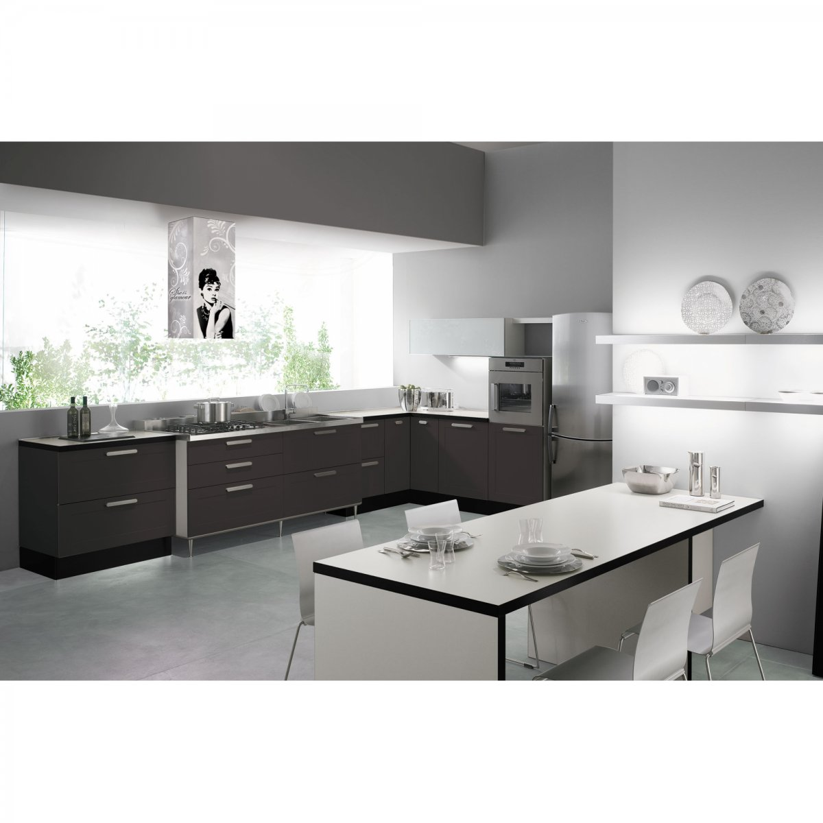 Coolors cappa glamour isola 40 coolors elettrodomestici for Cappa isola
