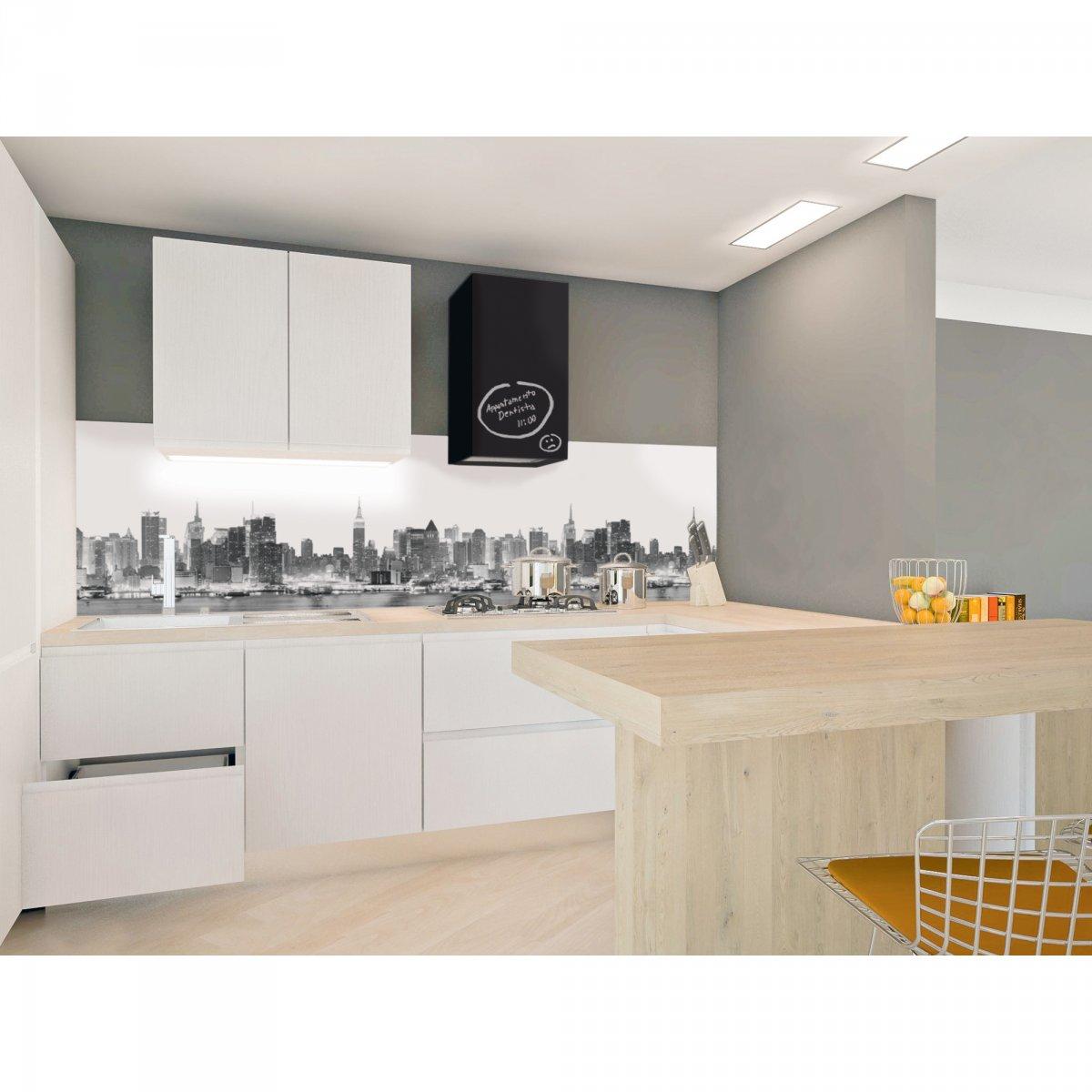 Coolors pannello ny black white alto l305 coolors cucina e accessori pannelli cucina coolors - Pannelli cucina ...