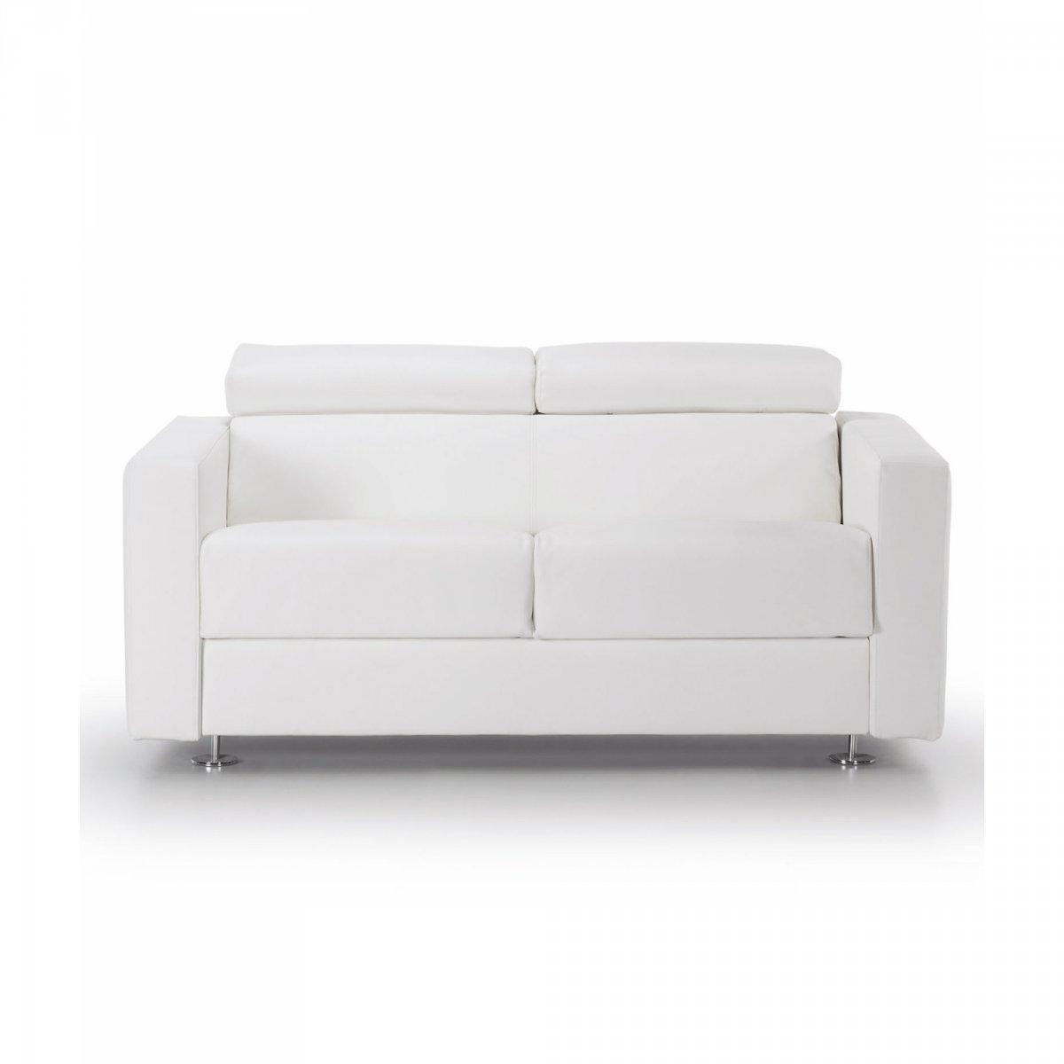 La forma queen divano letto 140 t ecopelle la for Divano queen