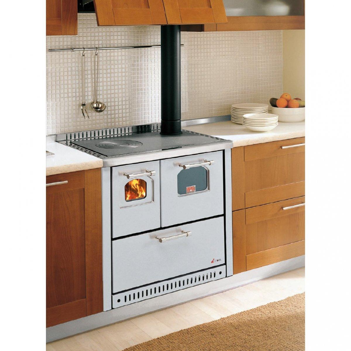 Home Elettrodomestici Cucine A Legna Cucina A Legna Ventilata Club #713A20 1200 1200 Foto Di Cucine